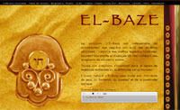 WEB : Site officiel de l'artiste El-Baze