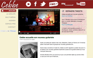 WEB : Cebbe, groupe de musique pop-folk-rock